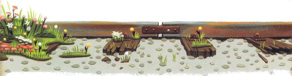 Le jardin voyageur le bonhomme ressorts for Le jardin voyageur